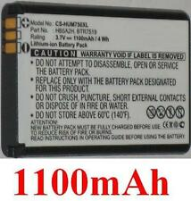 Batterie 1100mAh type BTR7519 HB5A2H Pour Huawei EC5805 3G