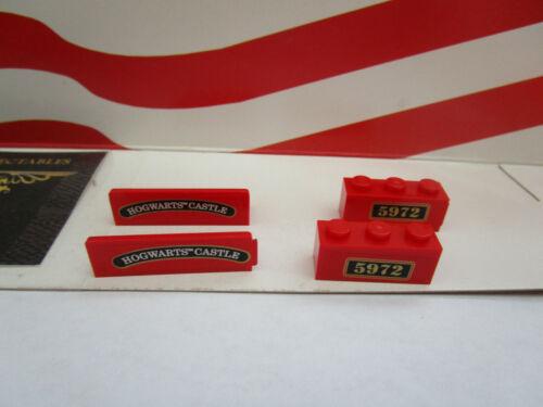 1 SET BRICKS WITH STICKERS HOGWARTS EXPRESS ENGINE SET 4841 Lego Harry Potter