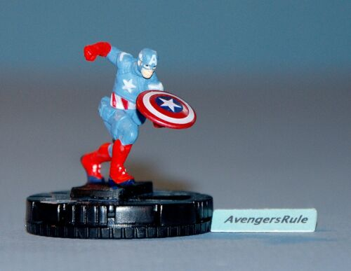 Marvel Heroclix Avengers Movie Primer Display 204 Captain America