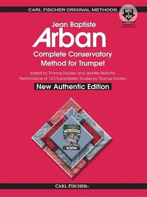 Musical Instruments & Gear Brass Arban's O21xsb Complete Conservatory Method For Trumpet Book W/ Mp3 2019 Official