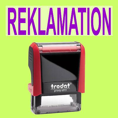 Papier, Büro- & Schreibwaren Reklamation Trodat Printy Rot 4911 Büro Stempel Kissen Violett äSthetisches Aussehen