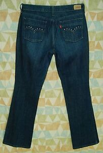 Studded-Pockets-BOOTCUT-Mid-Rise-LEVI-S-Loose-Fit-5-Pocket-515-Jeans-8-M
