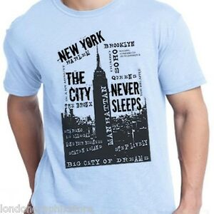 New York City T Shirt Brooklyn New Queens Bronx
