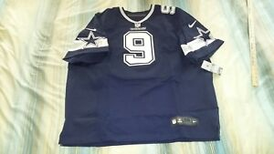 huge discount e4398 e7a84 Details about TONY ROMO #9 DALLAS COWBOYS AUTHENTIC NAVY NIKE ELITE  FOOTBALL JERSEY sz 56 NWT