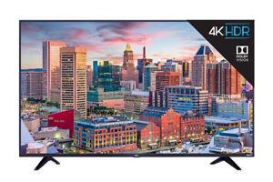 Tcl 43s517 43 In Led 4k Ultra Hd Roku Smart Tv Ebay