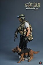 1/6 Soldier Story SS097 Special Duties Unit K9 handler dog SDU Hong Kong Police