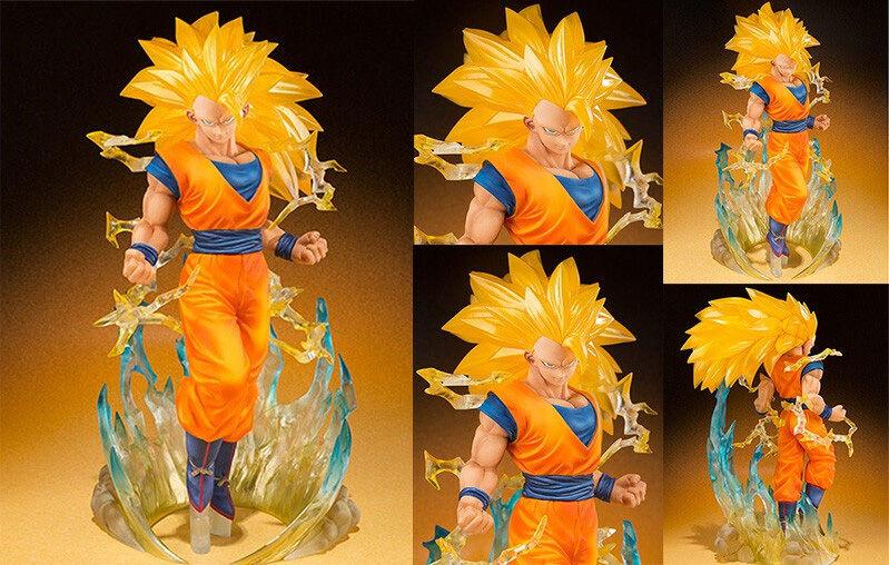 Goku Super Saiyan 3 SS3 Dragonball Z Figuarts ZERO Tamashii Nations Model Figure