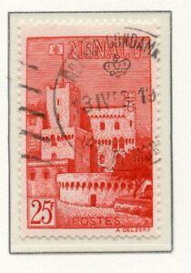 Timbre De Monaco Oblitere N°397 Vue Du Palais