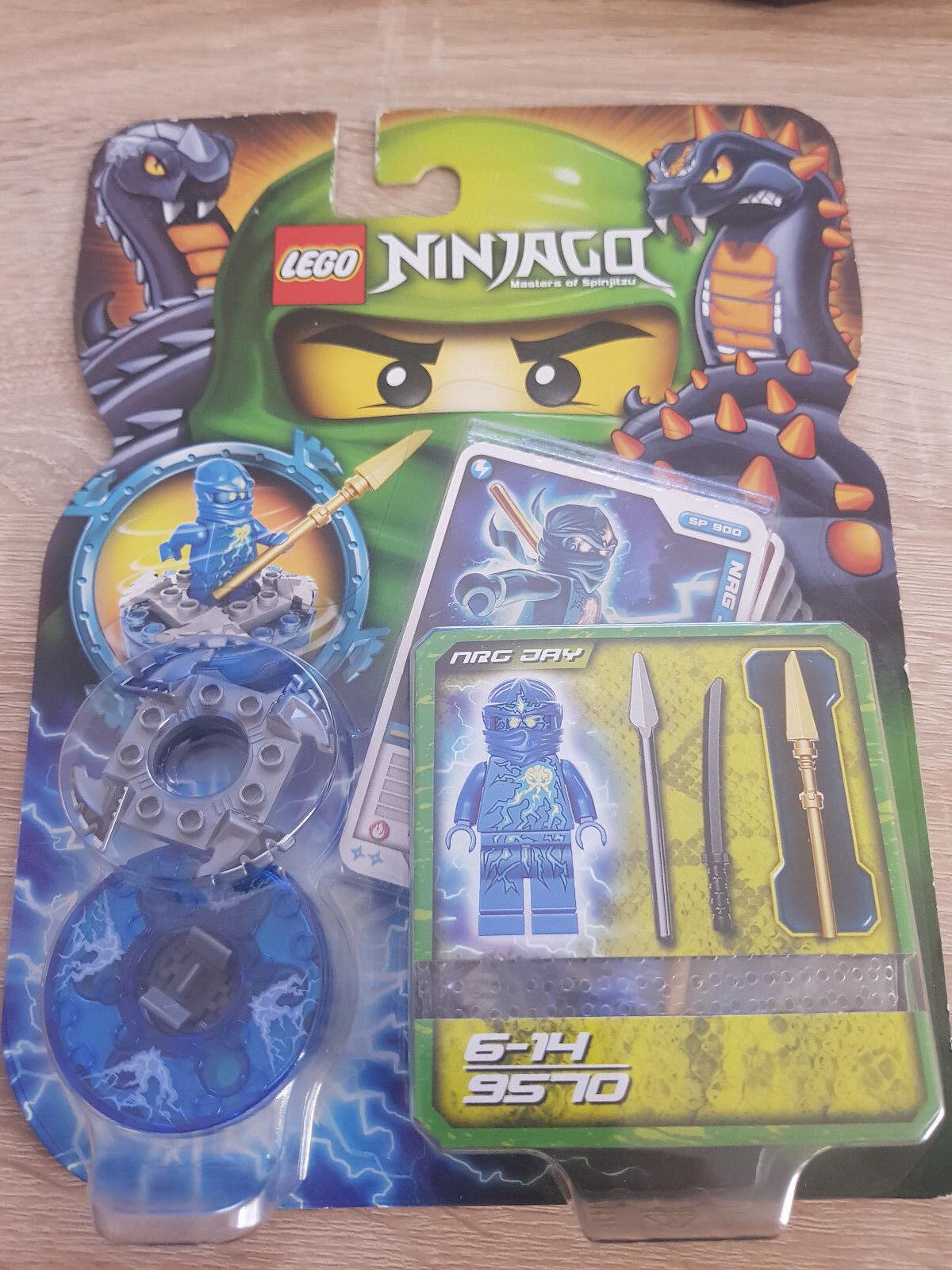 NEW LEGO NINJAGO set 9570  NRG JAY NEU OVP