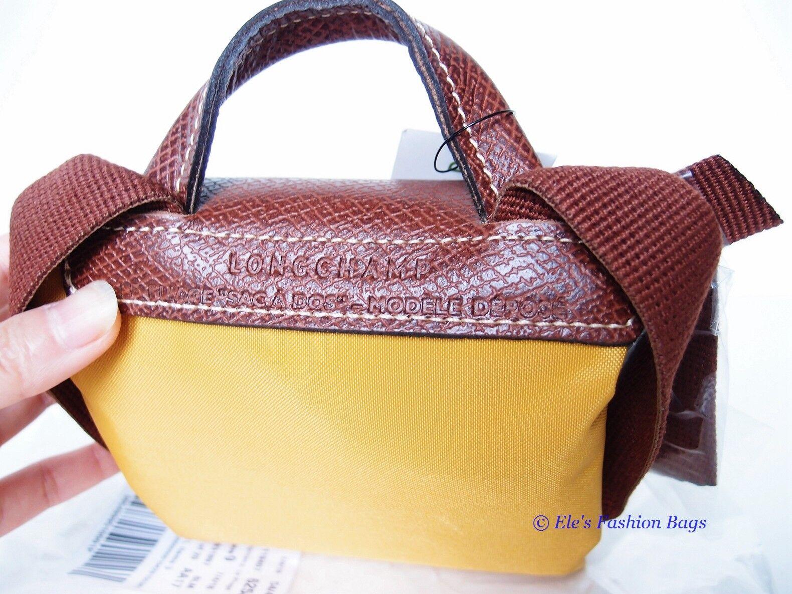 ccdabc4dee Longchamp Le Pliage Nylon Backpack 1699089620 Sunshine Yellow Auth for sale  online | eBay