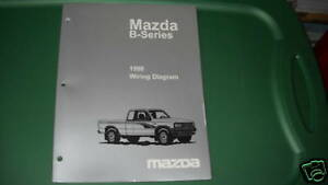 1998 Mazda B-Series Truck Electrical Service Manual Oem | eBay