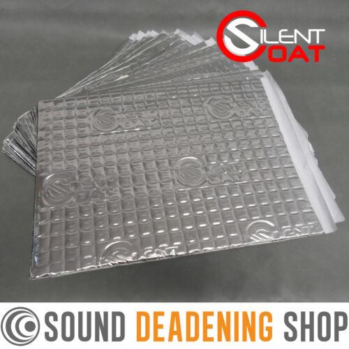 Silent Coat 2mm Bulk Pk 40 Sheets Car Van Sound Deadening Vibration Proofing Mat