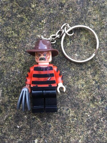 Freddy Krueger Nightmare On Elm Street Keyring Keychain Minifigure UK SELLER