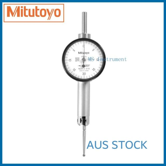 Genuine Mitutoyo 513-518T Pocket Dial Test Indicator |Full Set | Australia Stock