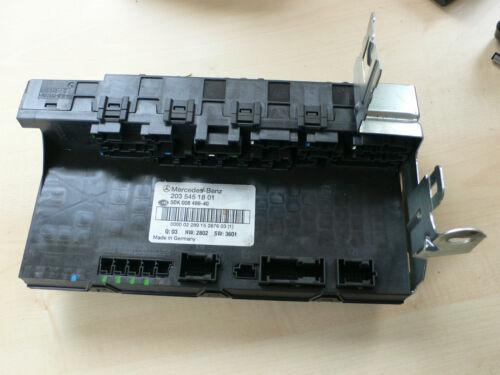03 MERCEDES Benz centrales électrique sam OE numéro 2035451801 q