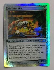 Magic-MTG-GDR-CARTE-CARDS-STOCKING-TIGER-PROMO-FOIL-INGLESE-ENG-NUOVO