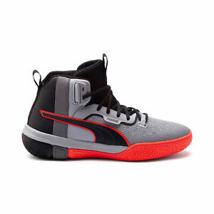 PUMA-Men-039-s-Legacy-Disrupt-Puma-Black-Red-Blast-Basketball-Shoes-19301801-NEW