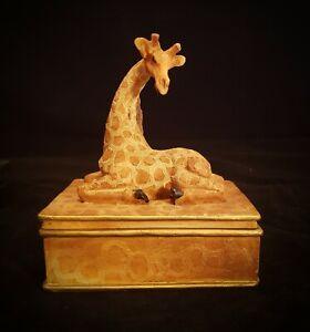 Resin-Giraffe-Trinket-Box-5-5-x-4-75-x-3-5-034-2-Pieces