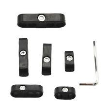 Schwarz Auto Zündkerze Draht Kabel Teiler 7 8mm Universal Für Chevy Ford
