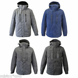 Nwt Men Zeroxposur Stretch Heavyweight Warm Winter Hooded