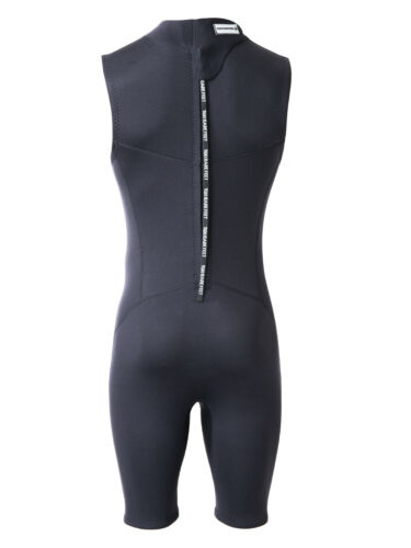 MD Mens 2.5mm Thunderclap Sleeveless Shorty Neoprene Wetsuit by TBF Adults