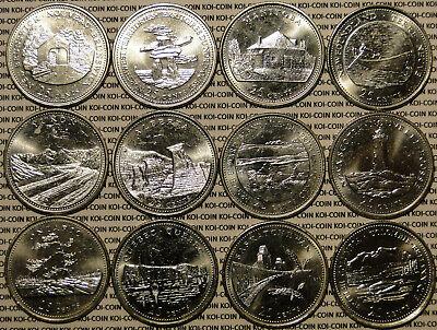 "Canada 25 Cent Quarter Collection Roll of 1867-1992 UNC /""Saskatchewan/"""