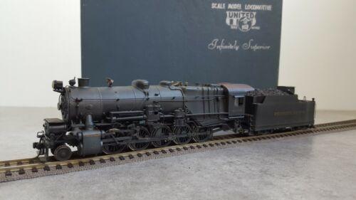 United / Pfm Locomotive A Vapeur 2-10-0 Pennsylvania 4535 Tres Bon Etat En Boite