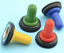 1x12mm Dia Toggle Switch Waterproof Rubber Cover Cap Boot Weather Pack Coloured