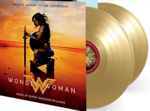 Wonder Woman - OST Ltd Gold 2 Vinyl LP Limited 3000 individually numbered