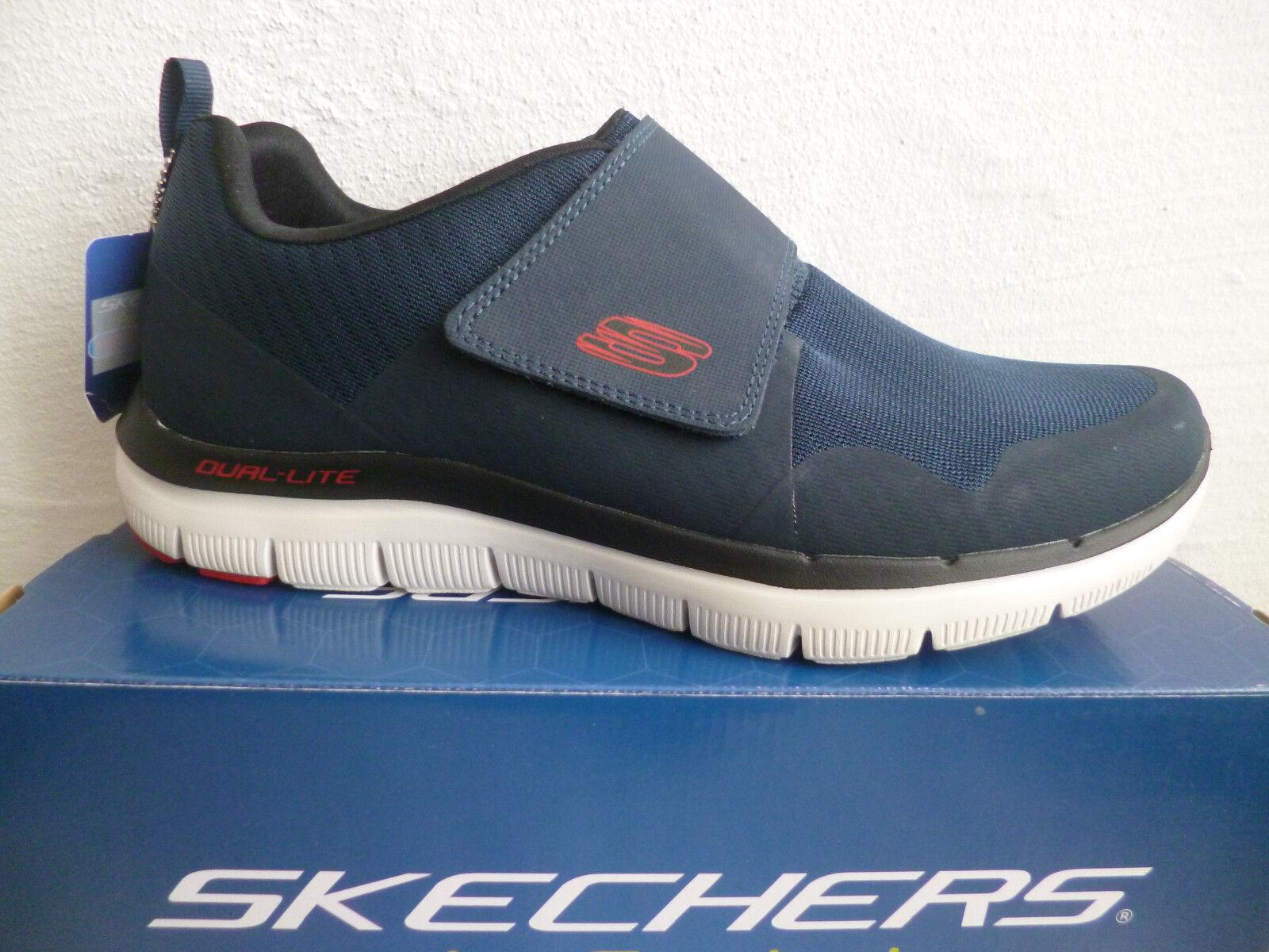 Skechers Zapatillas de Hombre Deporte Cierre Adhesivo Azul 52183 Nuevo