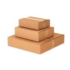 Starboxes 25 Flat Corrugated Boxes 14 X 14 X 6 Shipping Box Moving Cartons