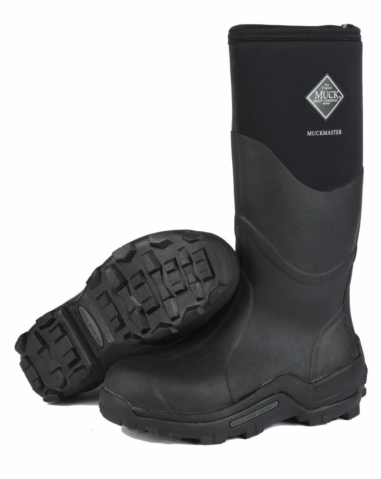 Muck MMH-500A Hombre Muckmaster Hi Comercial Grado botas de Trabajo Negro