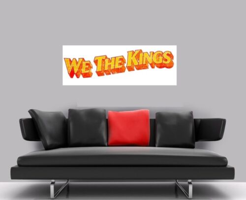 "WE THE KINGS BORDERLESS MOSAIC TILE WALL POSTER 47/"" x 16/"""