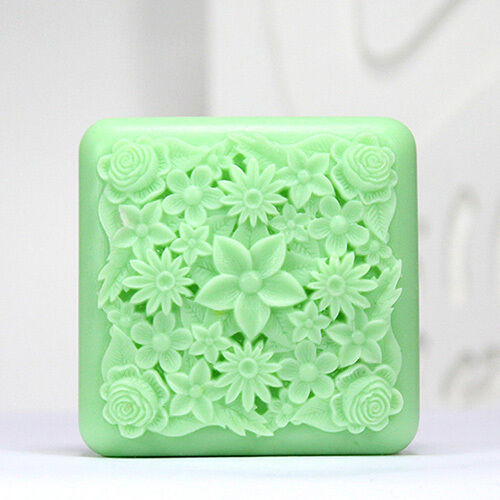 Flower A - Handmade Silicone Soap Mold Candle Mould Diy Craft Molds
