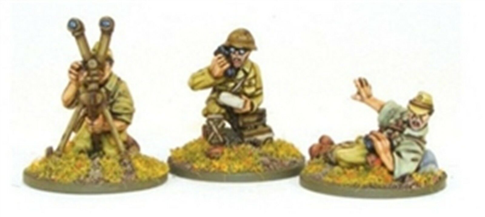 NEW BOLT ACTION MINIATURES IMPERIAL JAPANESE FOO TEAM COLLECTIBLES WGB-JI-34