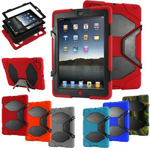 Hybrid-Shockproof-Military-034-Built-in-Screen-Protector-034-Case-Cover-For-iPad-2-3-4