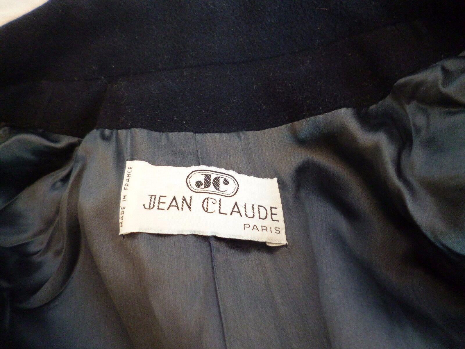 _ MANTEAU FEMME _ JEAN CLAUDE PARIS _ black _ _ _ T38 _ b685f5