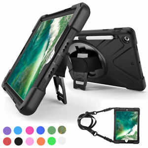 Hybrid-Rubber-Case-Cover-with-Screen-Protector-For-iPad-9-7-6th-5th-Generation