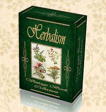 130 Vintage Books Herbalism Herbal Medicine Herbs Homoeopathy Old Remedy DVD 274