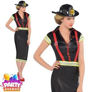 Pin-Up-Fire-Girl-Firefighter-Adults-Hen-Fancy-Dress-Brigade-Uniform-Costumes