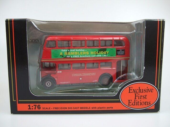 EFE 10128BA - 1 76 AEC SRT, London London London Transport Red, Ramblers Holidays SRT 1 26da8a