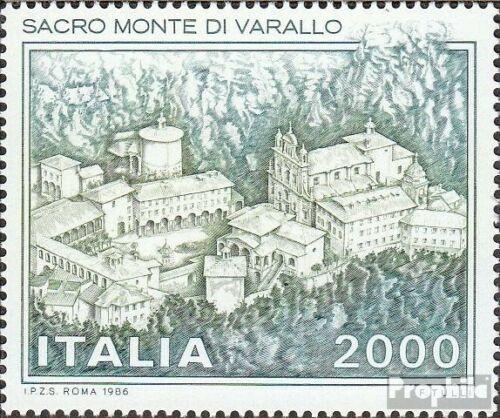 Italy 1979 complete issue unmounted mint never hinged 1986 Monastery