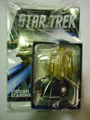 "STAR TREK STARSHIPS COLLECTION #179 /""VIDIIAN/"" EAGLEMOSS"