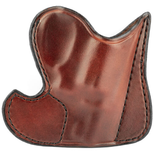 """Don Hume 001 Front Pocket Holster Ambi Brown 2/"""" S/&W J Frame Taurus 85 J100100R"""