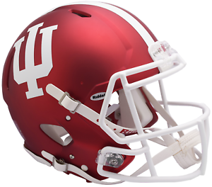 INDIANA-HOOSIERS-NCAA-Riddell-SPEED-Full-Size-Replica-Football-Helmet
