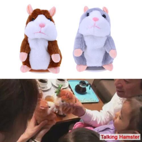 Lovely Talking Hamster Mimicry Pet Plush Toy Kids Speak Talking Sound Record Toy
