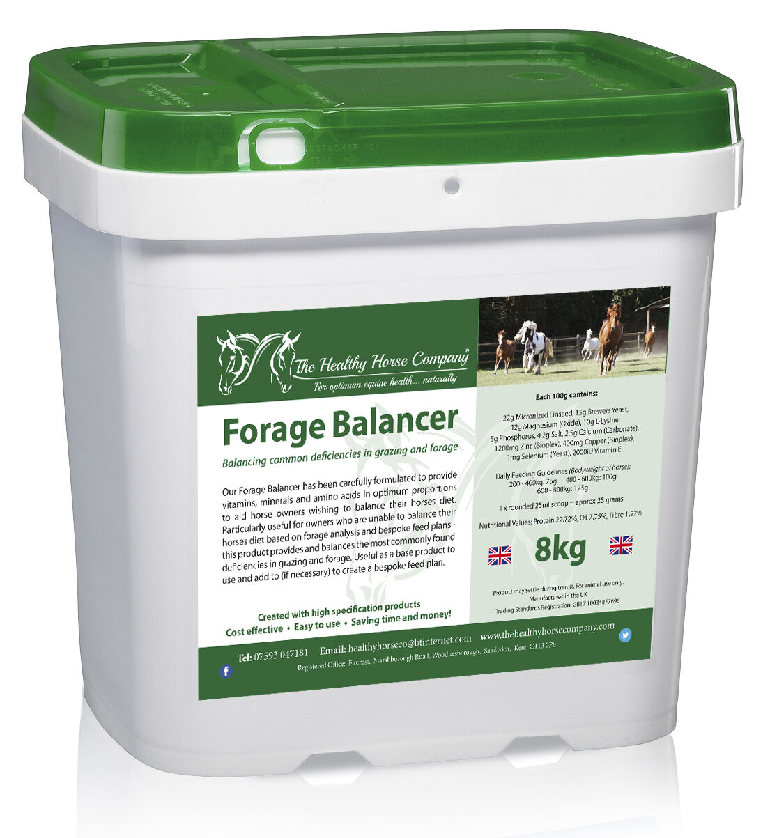 Forage Balancer 8kg Tub (Good Health, Minerals)