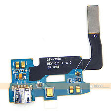 USB Charging Dock Port Flex Cable Connector For Samsung Galaxy Note 2 II N7100
