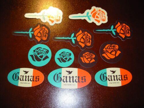 ERNESTO YERENA Sticker decal 12 STICKER SET like poster print Shepard Fairey