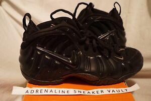 21e00e46fcb86 Nike Air Foamposite Pro All Black 2004 Medium Grey Vintage OG Penny ...